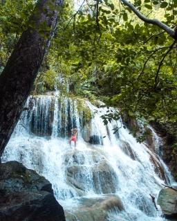 Checking out Kanchanaburi and Erawan National Park
